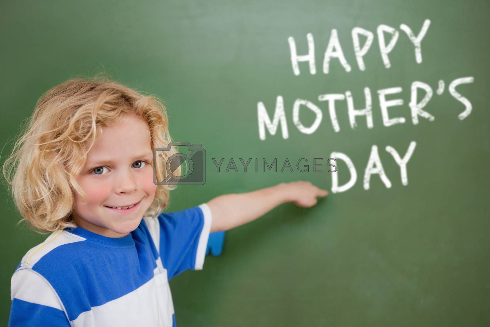 Mothers day greeting against black background