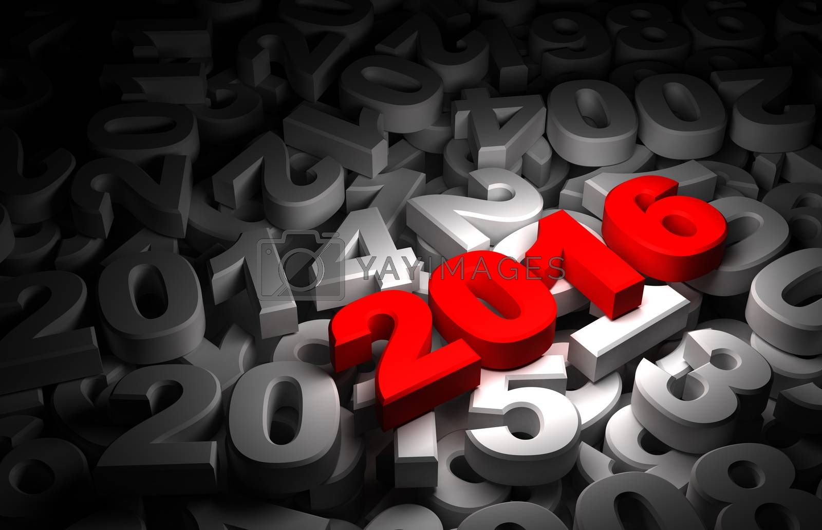 New Year 2016 and Olds