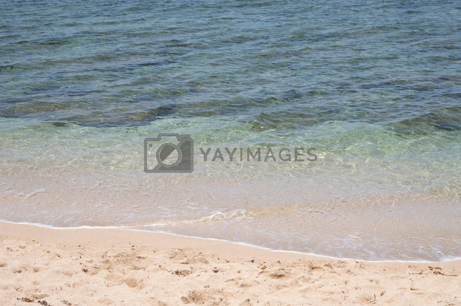 sea beach blue sky sand sun daylight relaxation landscape viewpoint for design