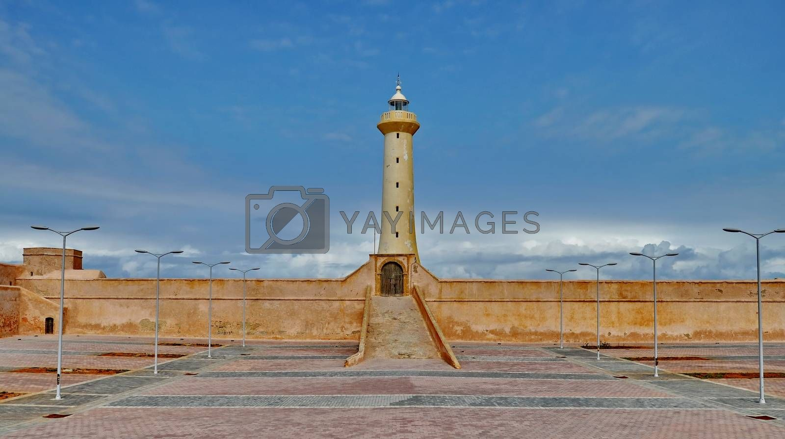 Royalty free image of Lighthouse of Rabat, Morocco by anderm