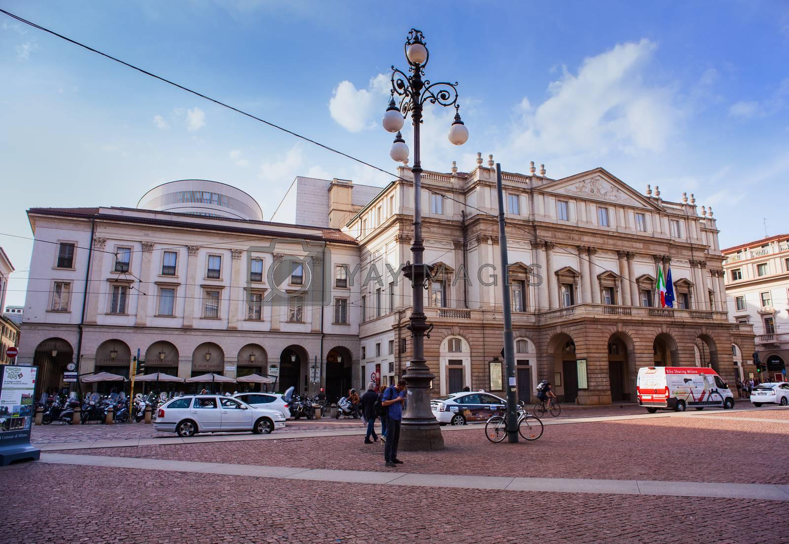 Teatro alla Scala, Milan by bepsimage