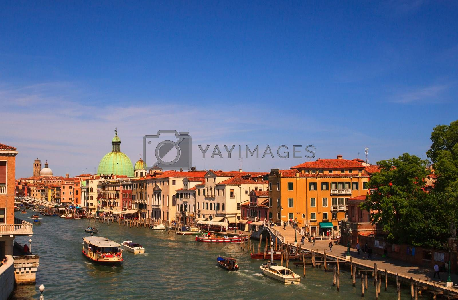 View of San Simeone e Giuda church in Venice