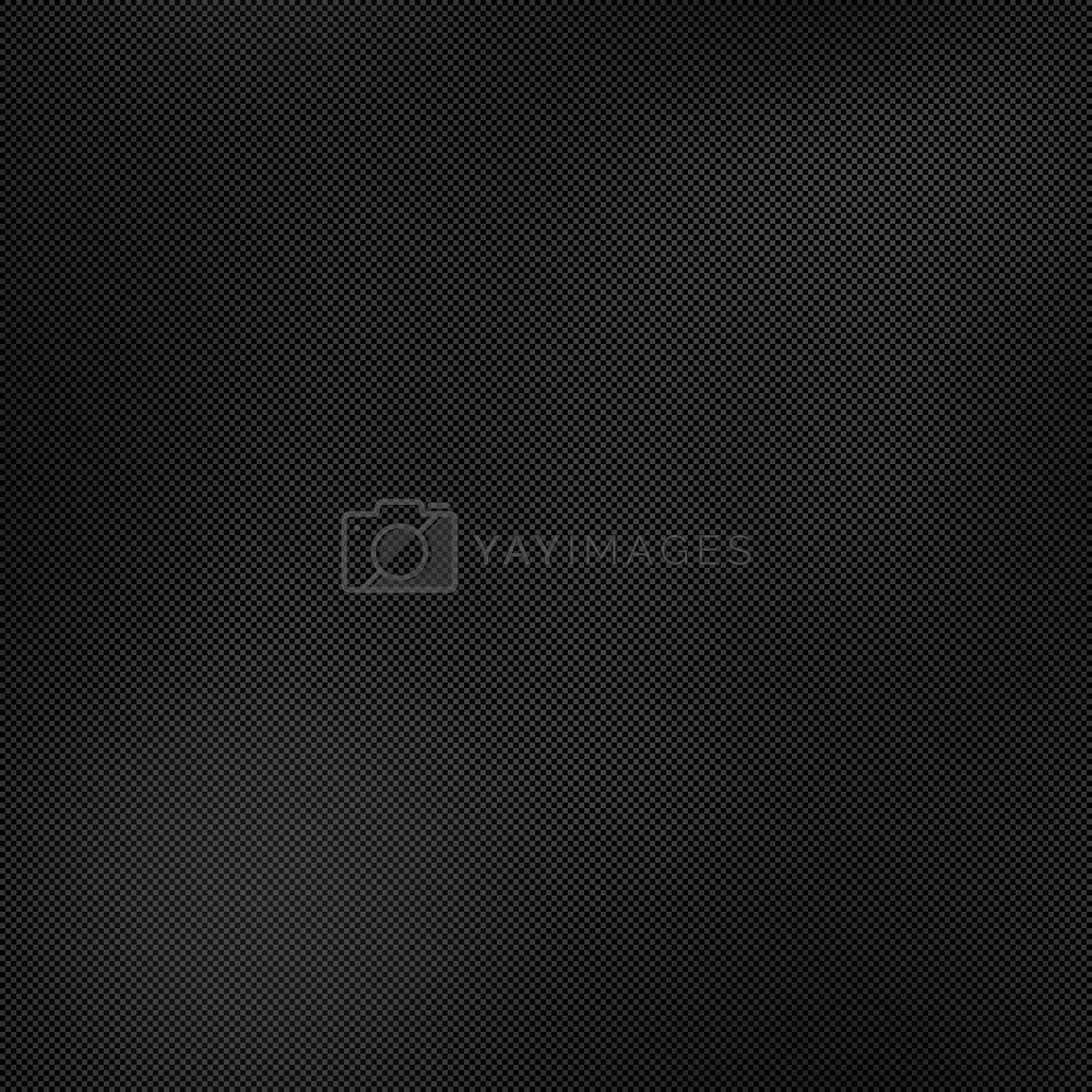Highly detailed illustration of a carbon fiber background.