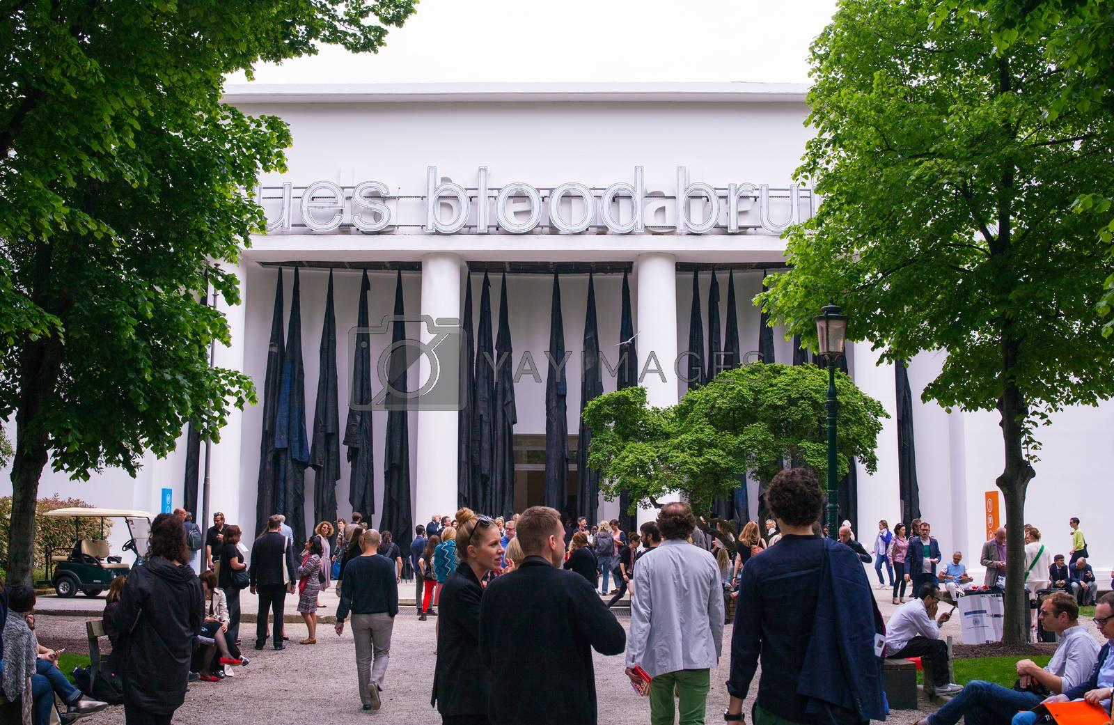 56th Venice biennale by bepsimage