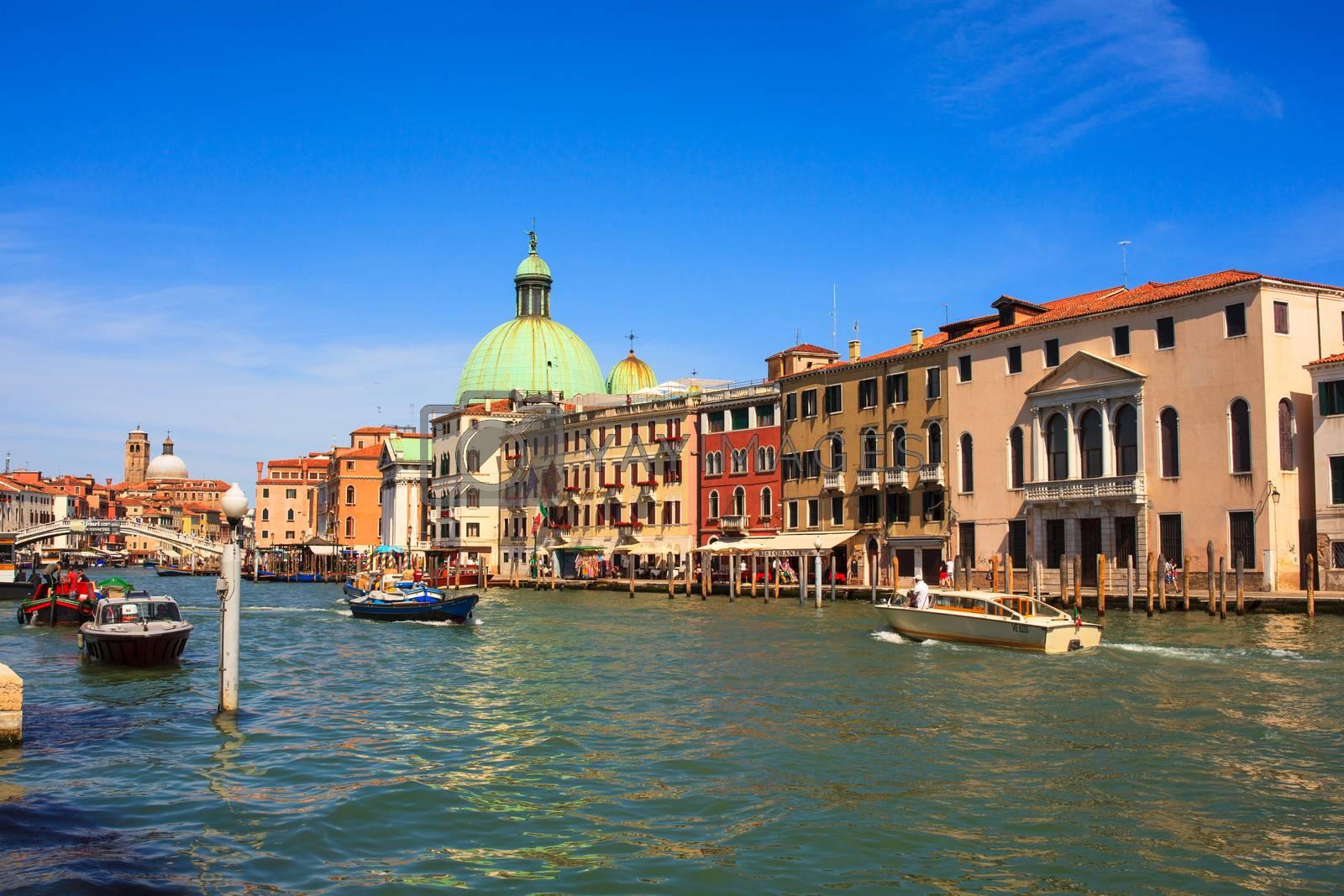 View of San Simeone e Giuda church in Venice