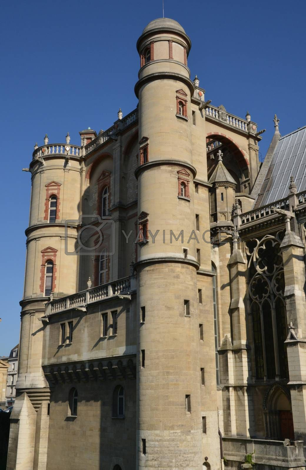Ile de France, the picturesque castle of Saint Germain en Laye