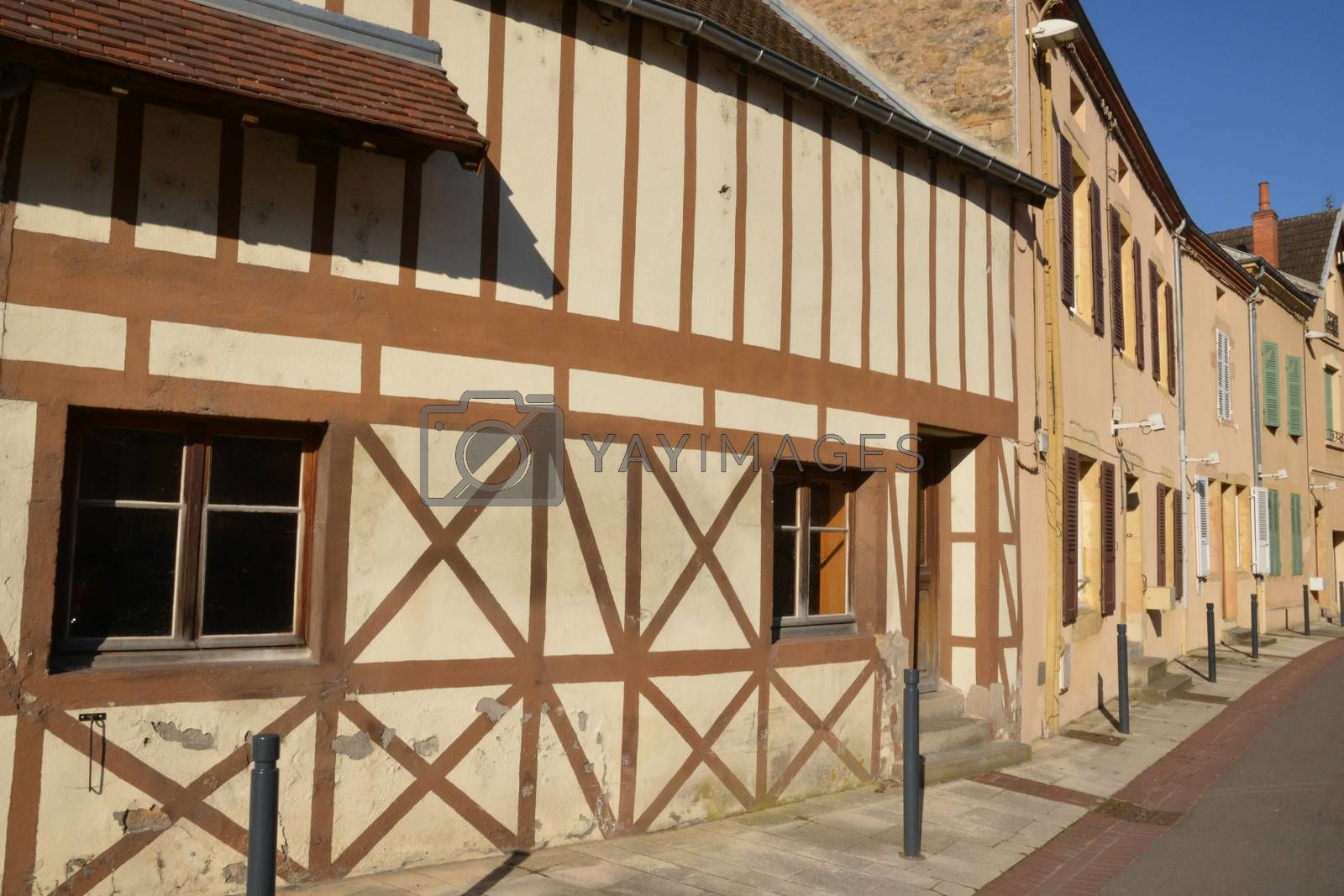 Bourgogne, the picturesque city of Paray le Monial