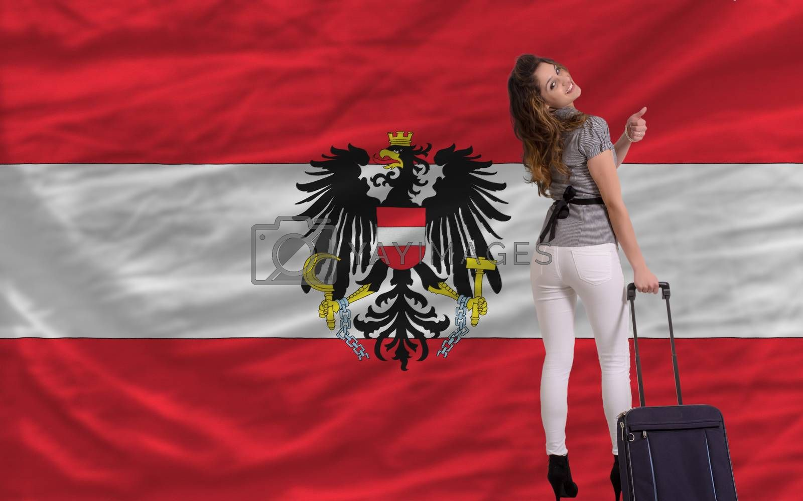 Royalty free image of tourist travel to austria by vepar5