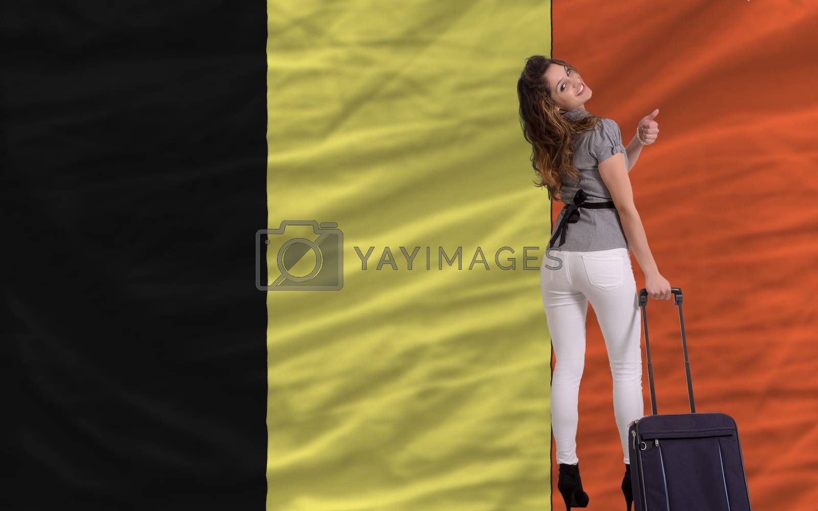 Royalty free image of tourist travel to belgium by vepar5