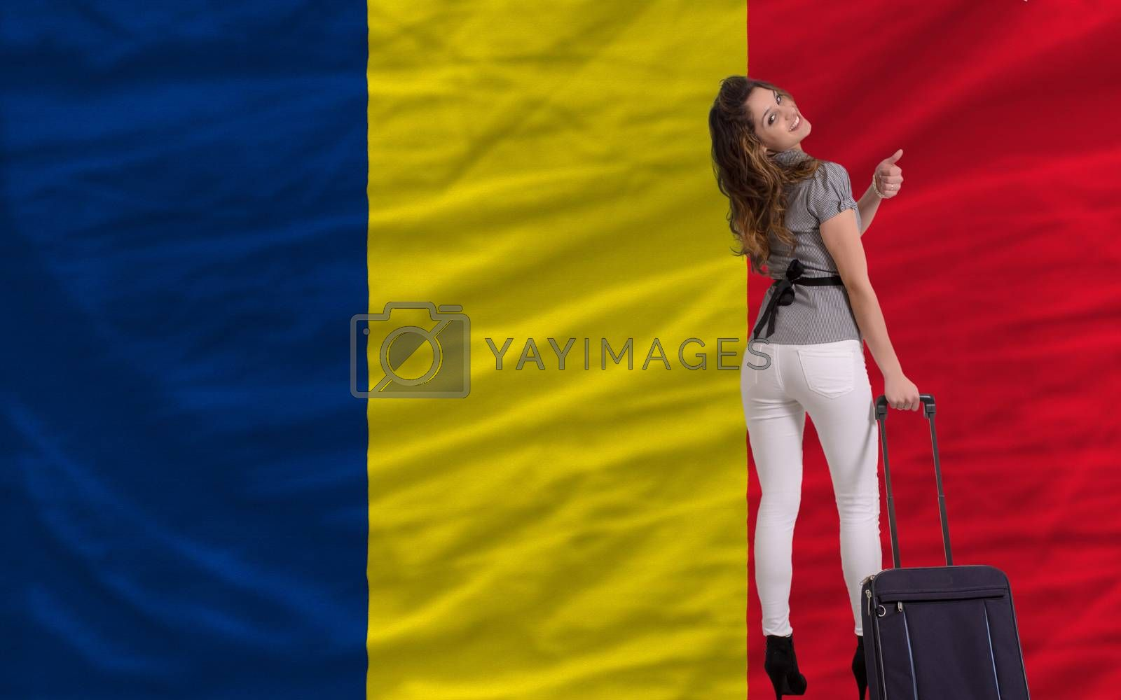 Royalty free image of tourist travel to chad by vepar5