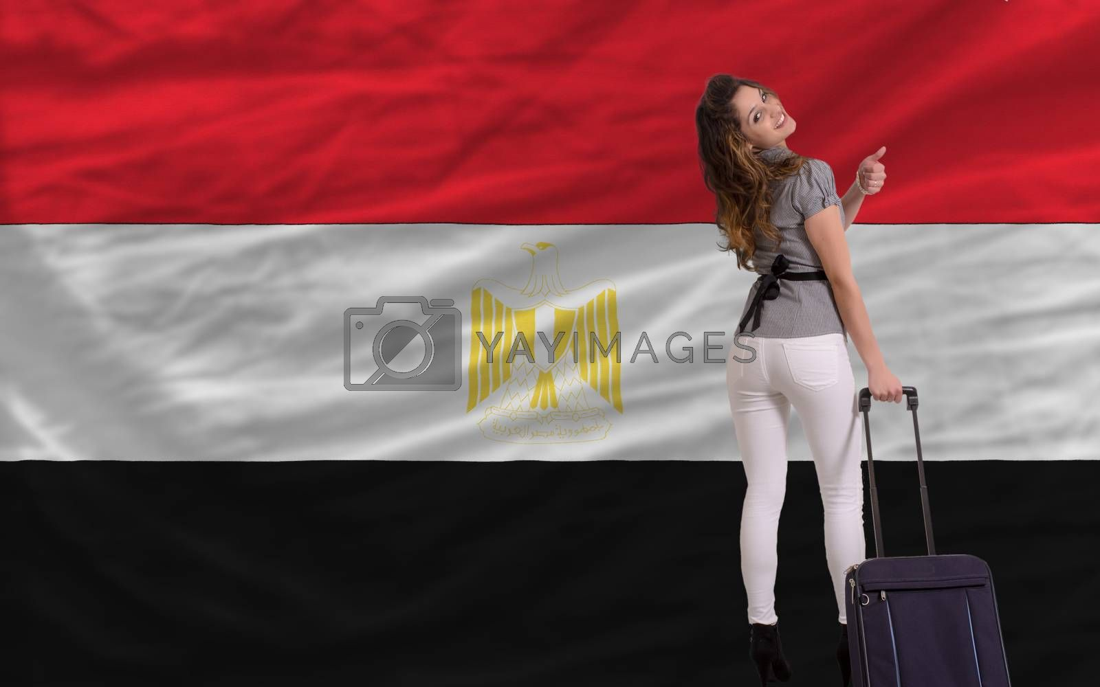Royalty free image of tourist travel to egypt by vepar5