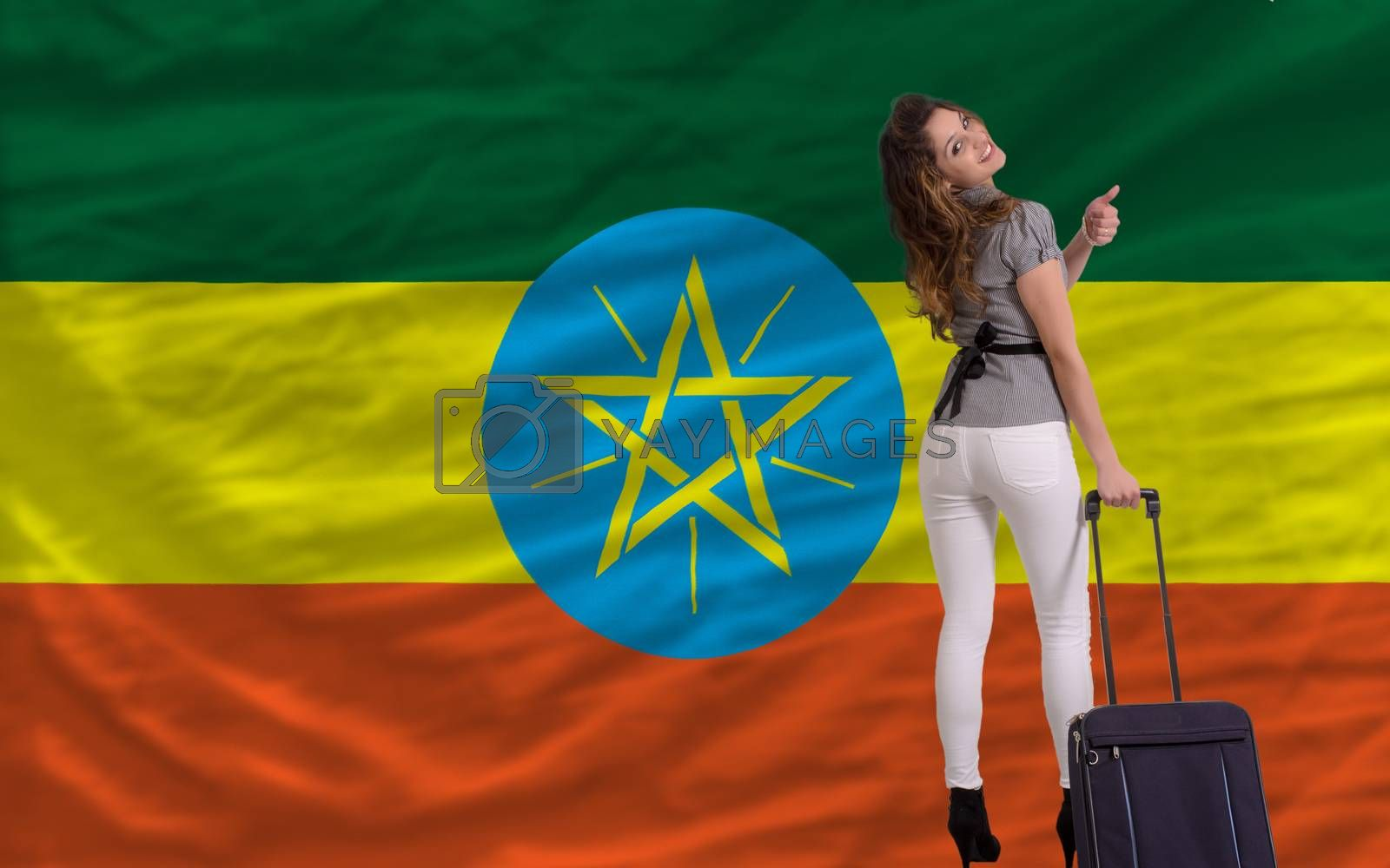 Royalty free image of tourist travel to ethiopia by vepar5