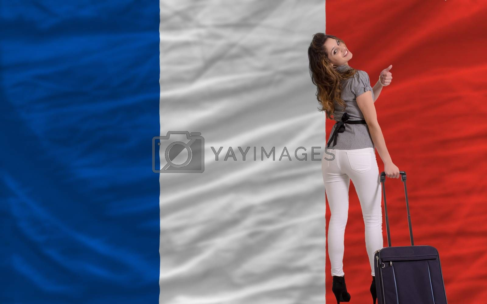 Royalty free image of tourist travel to france by vepar5
