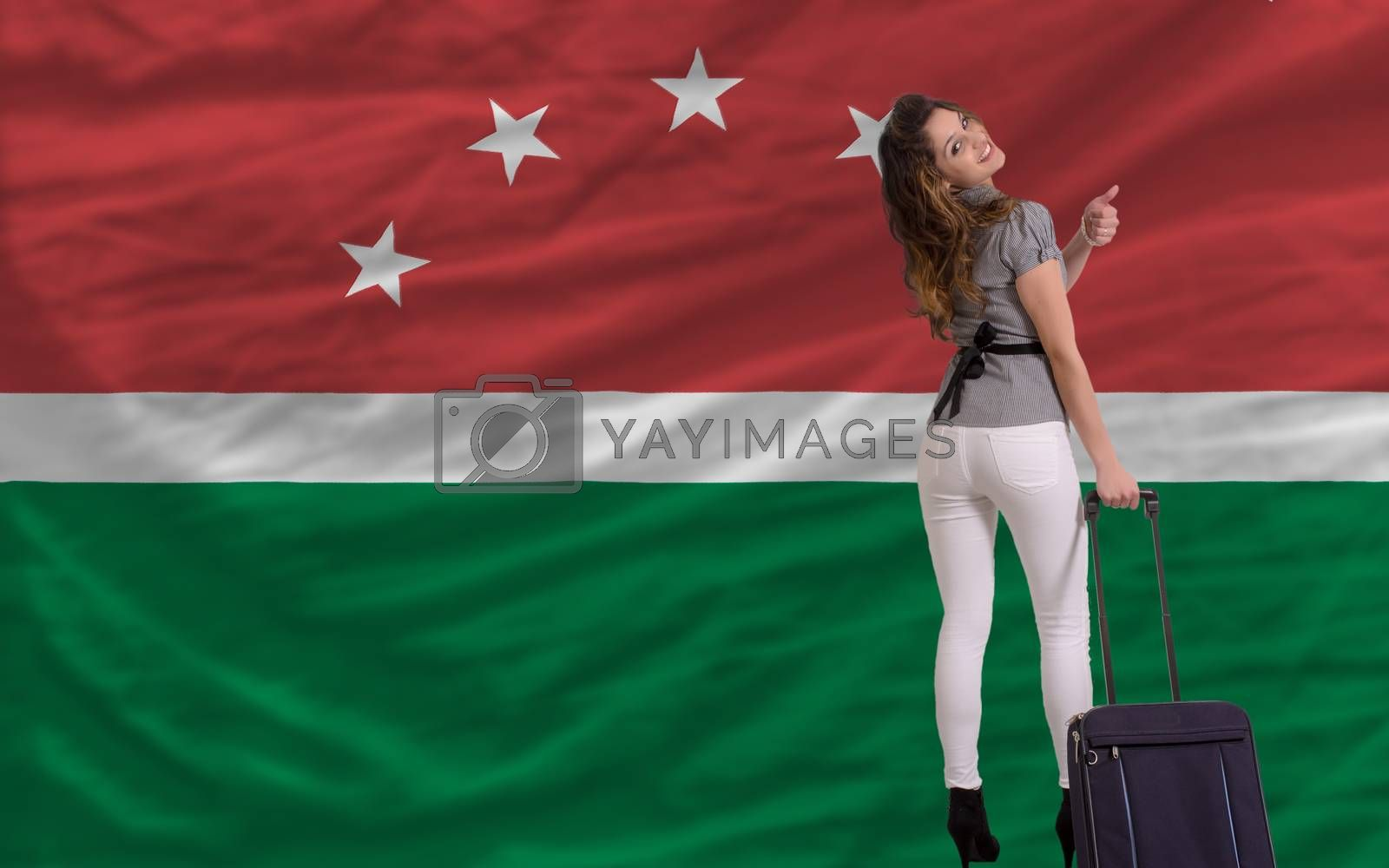 Royalty free image of tourist travel to maghreb by vepar5