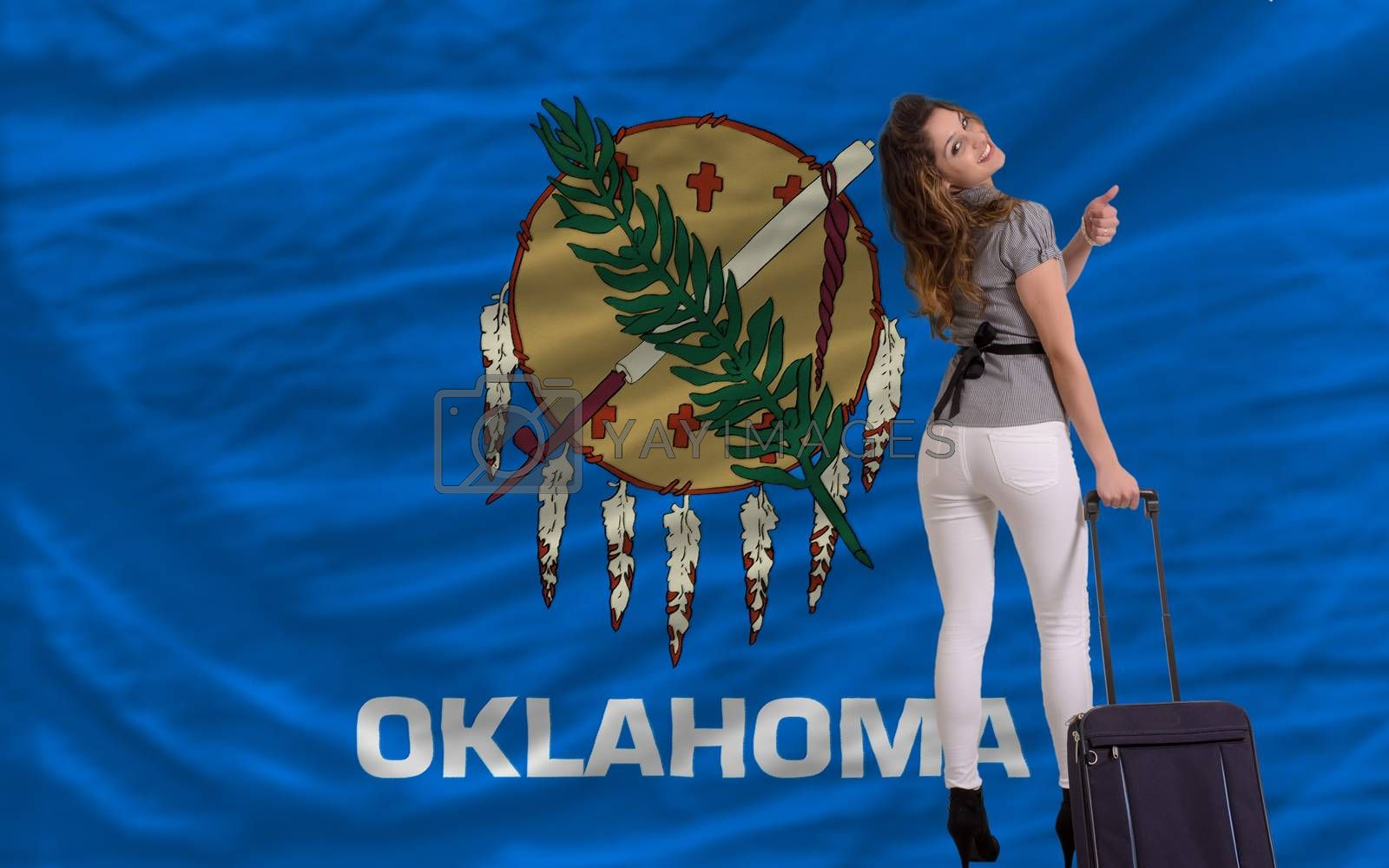 Royalty free image of tourist travel to oklahoma by vepar5