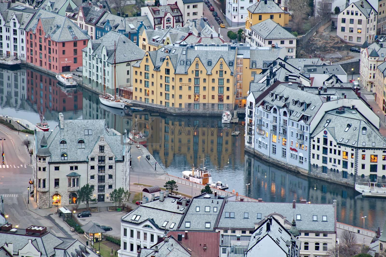 City of Alesund in Norway