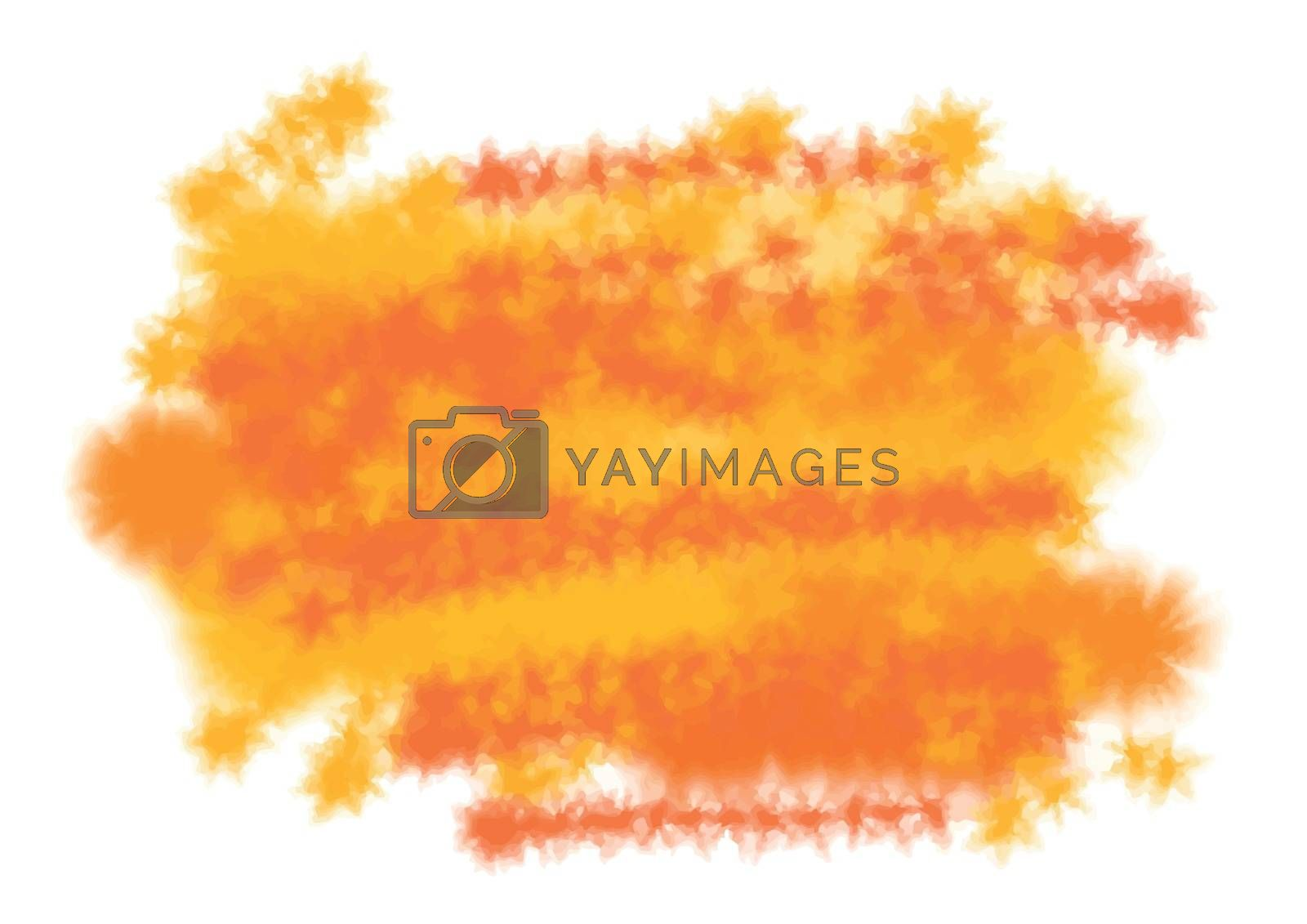 Abstract artistic color splash background