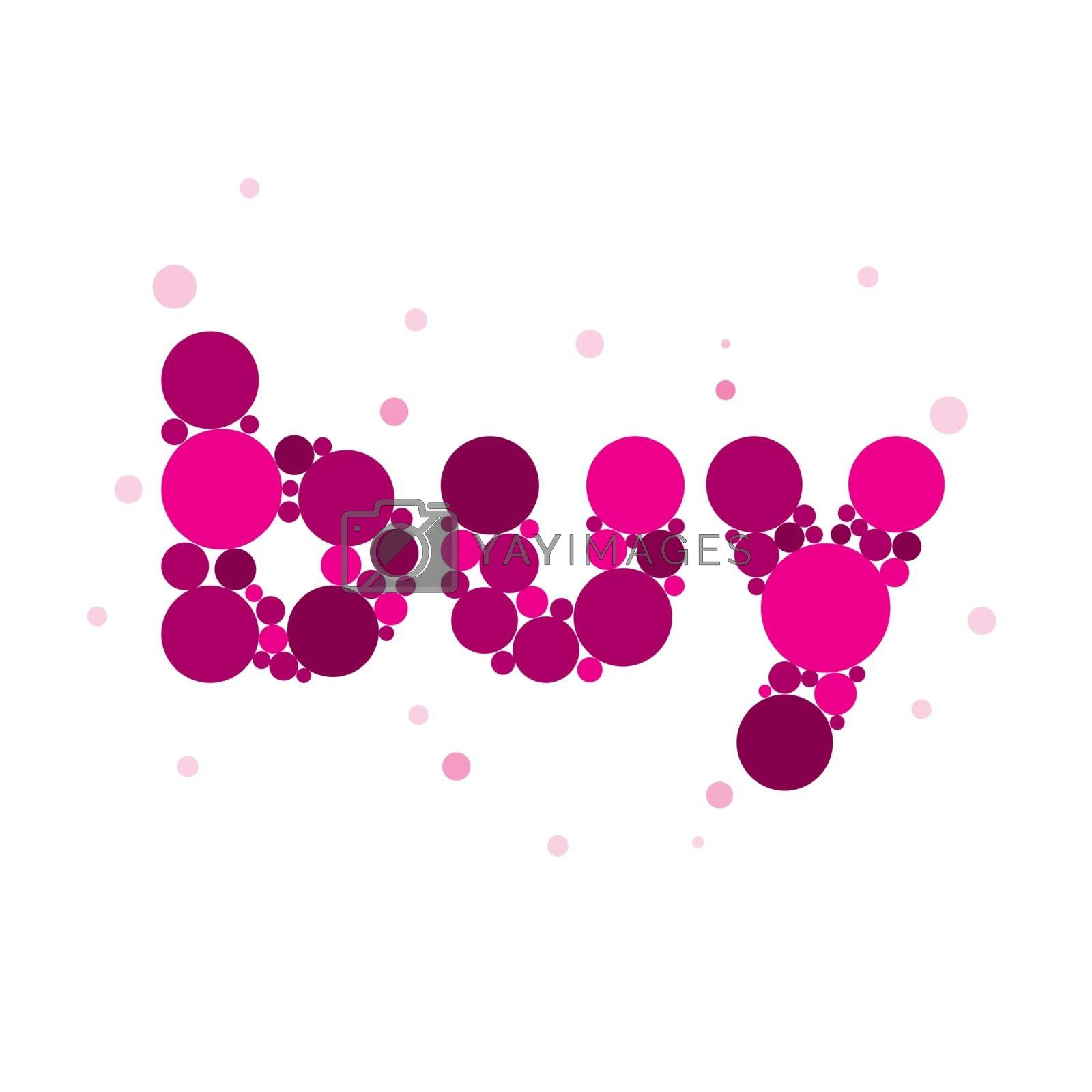 vector logo buy from purple circles by butenkow