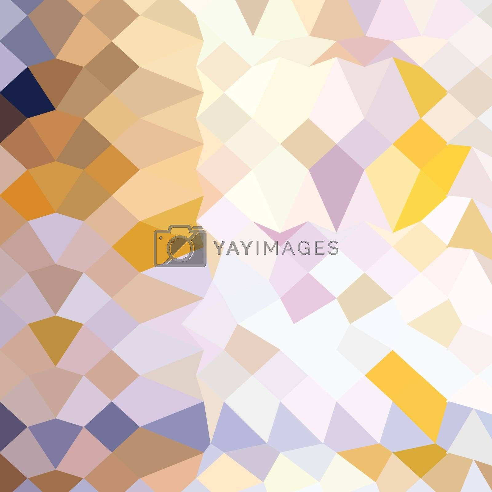 Royalty free image of Hansa Yellow Abstract Low Polygon Background by patrimonio