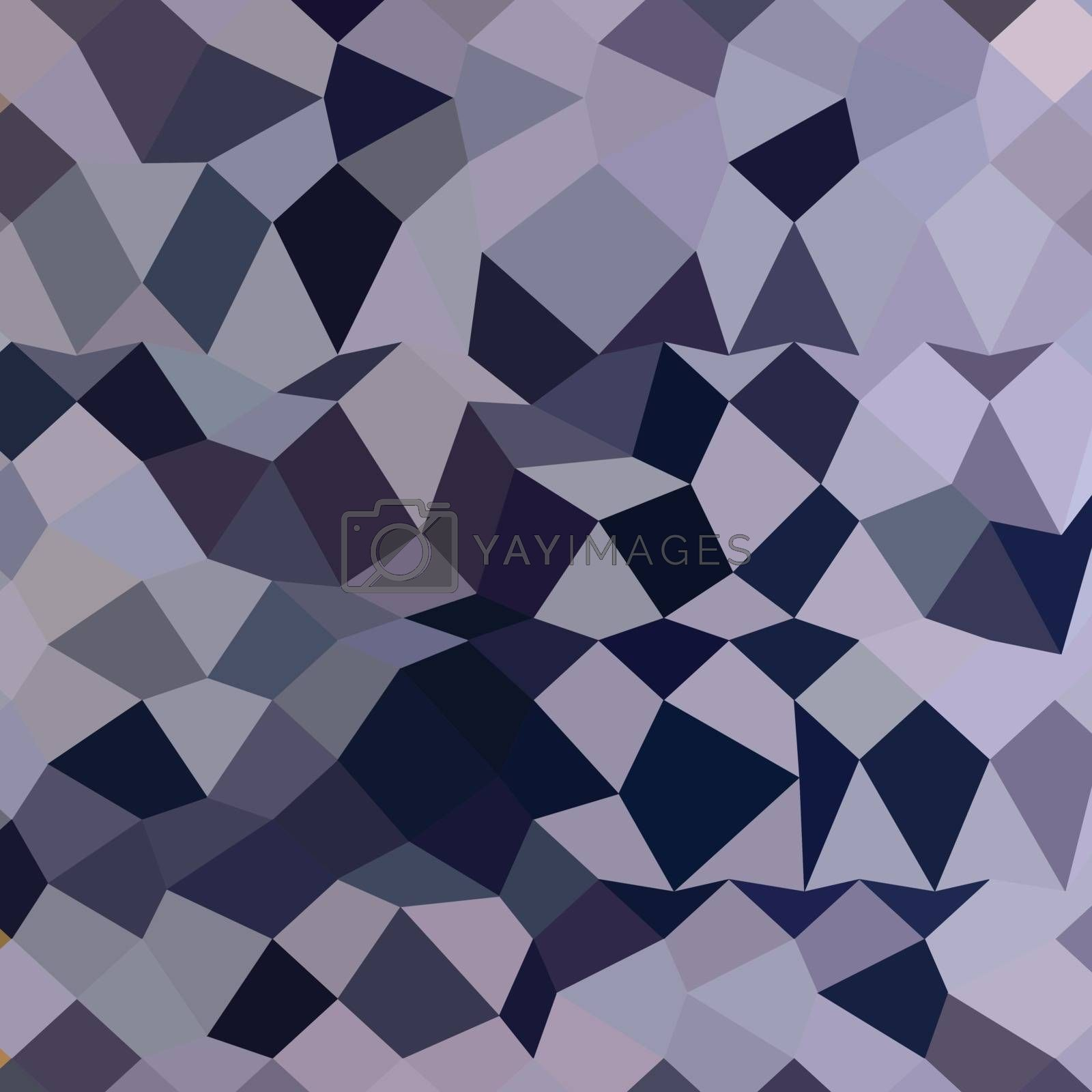 Royalty free image of Licorice Black Abstract Low Polygon Background by patrimonio