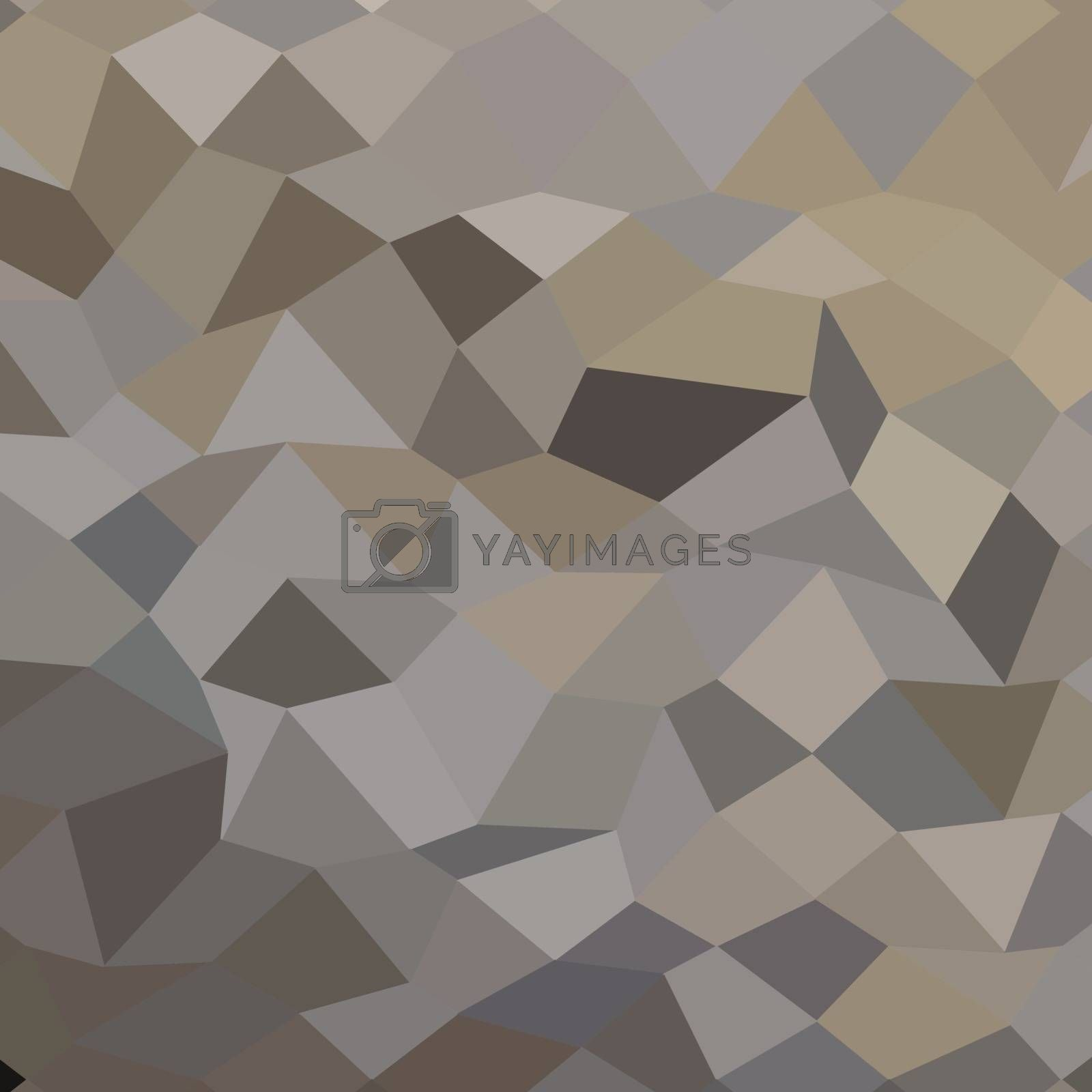 Royalty free image of Trolley Grey Abstract Low Polygon Background by patrimonio
