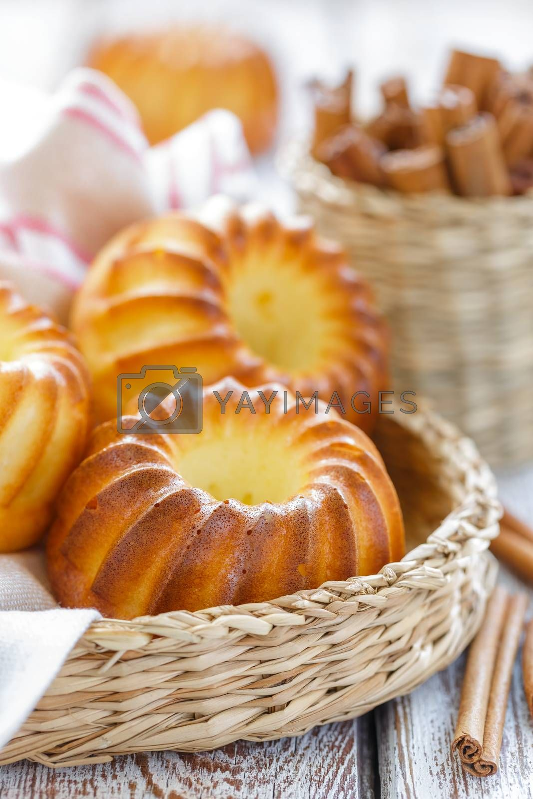 Royalty free image of Muffins by yelenayemchuk