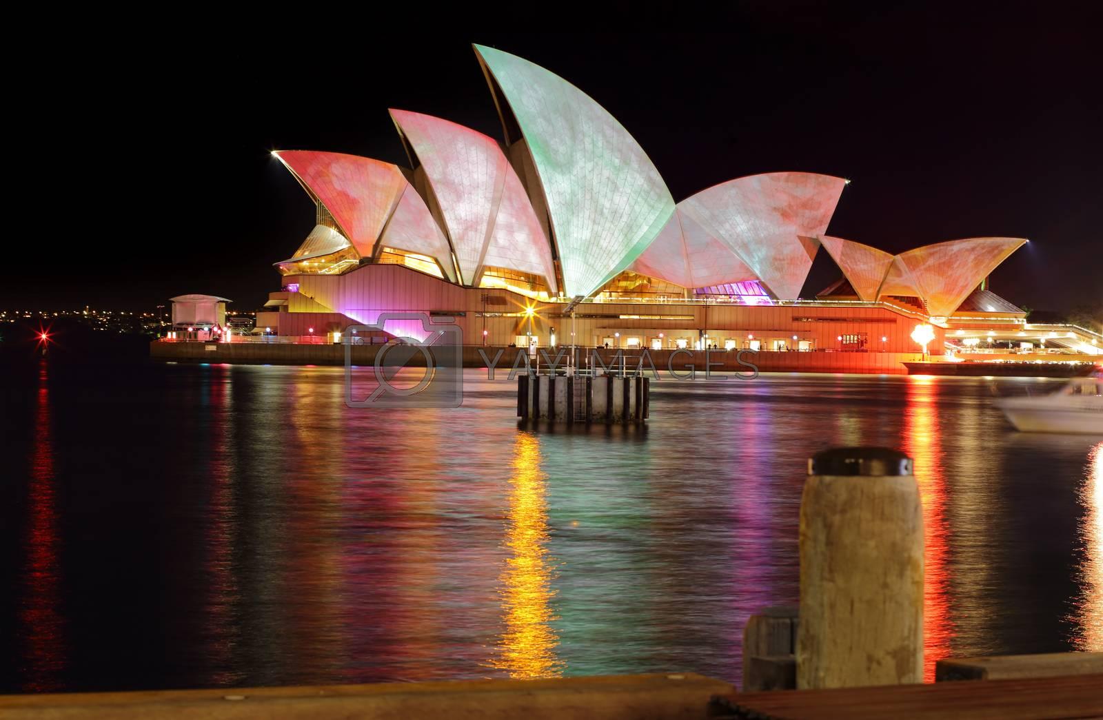 Sydney Opera House Watercolours by lovleah