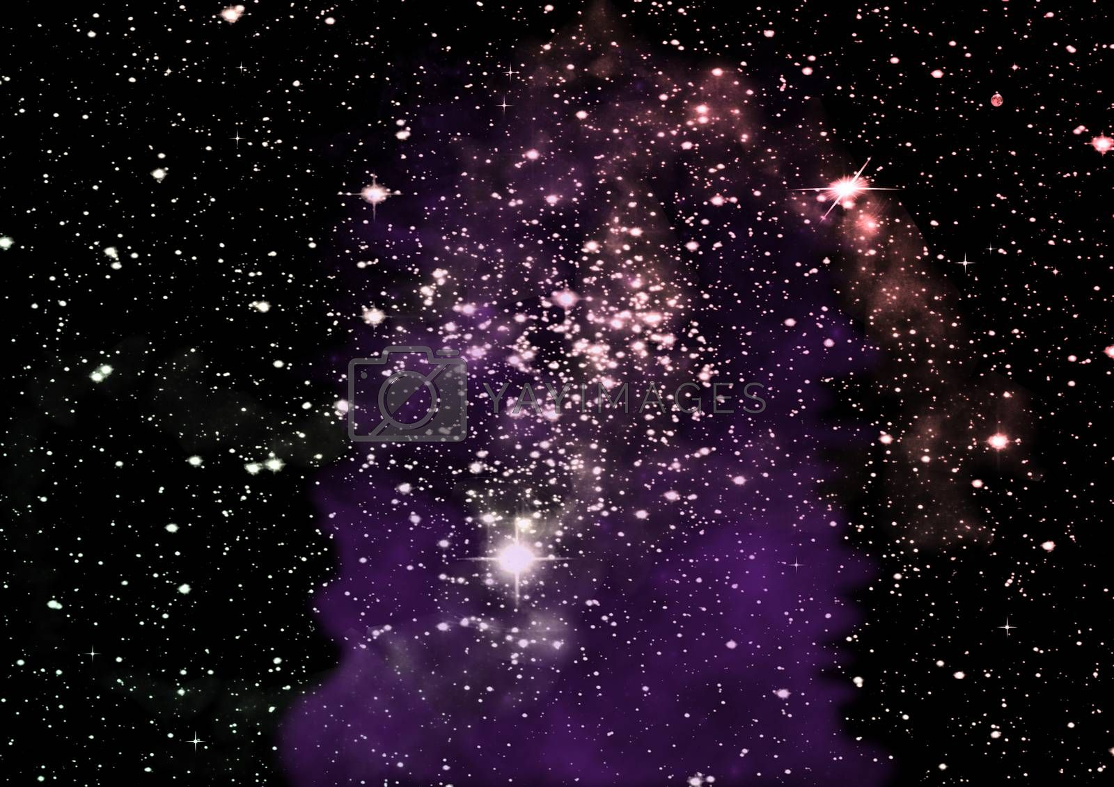 Royalty free image of Far away galaxy by richter1910