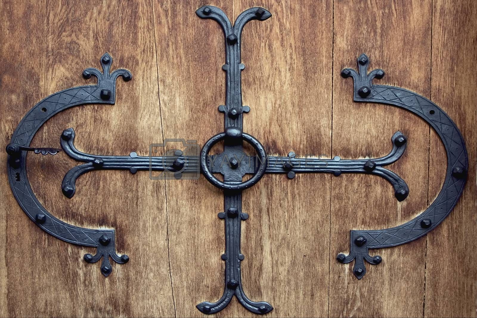 Royalty free image of  brown knocker in neuschwainstain  by lkpro