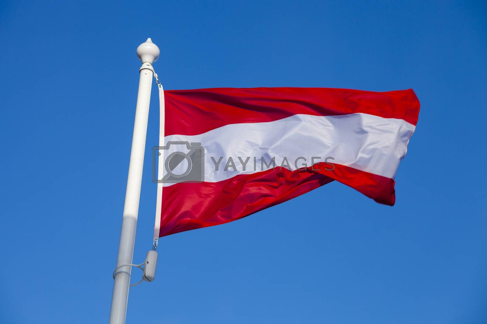 Royalty free image of Flag of Austria by ints