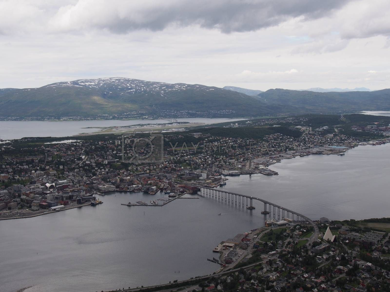 Royalty free image of Tromsø, Norway by benedijo2
