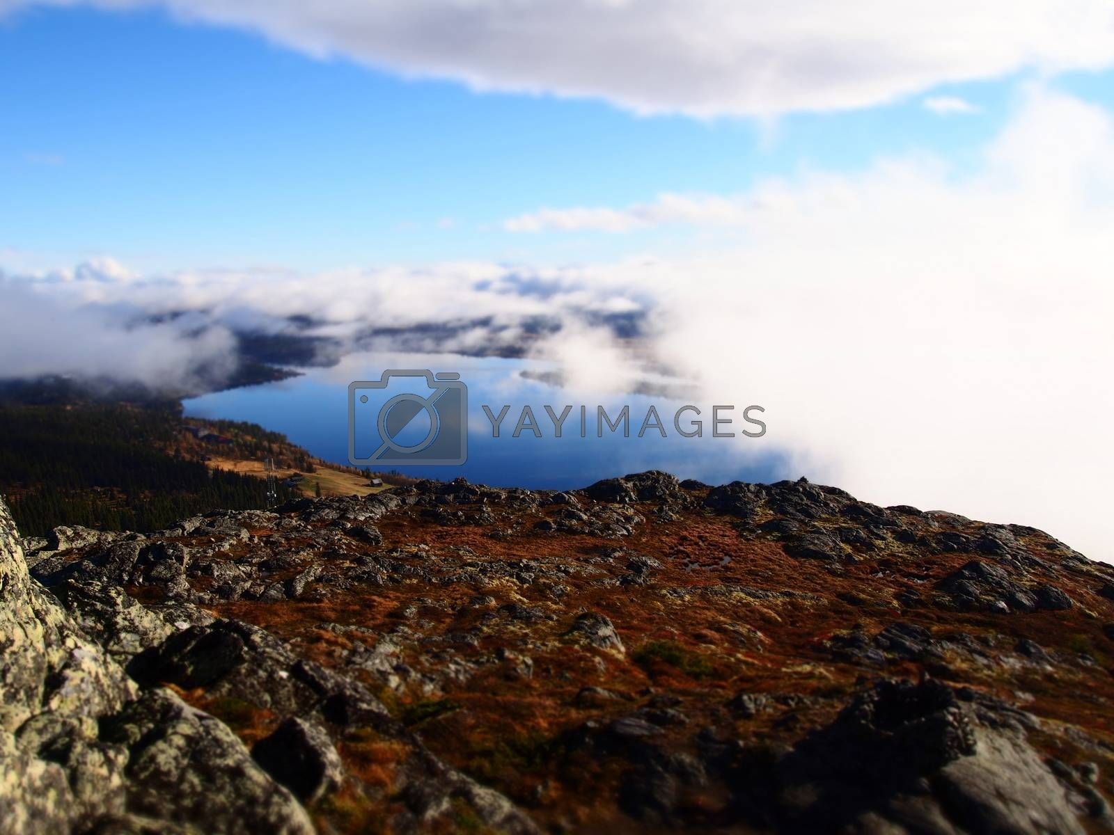 Royalty free image of Fefor, Norway by benedijo2