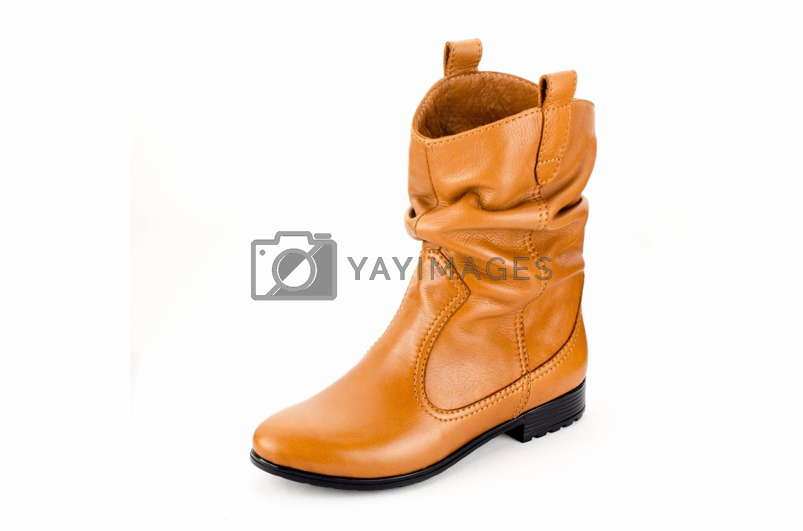 Royalty free image of Womens leather boots by Morfey713
