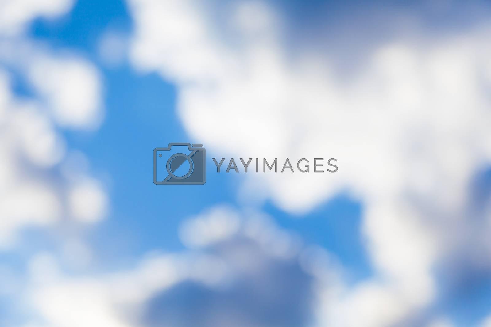 Royalty free image of Blurred Sky by Belyaevskiy