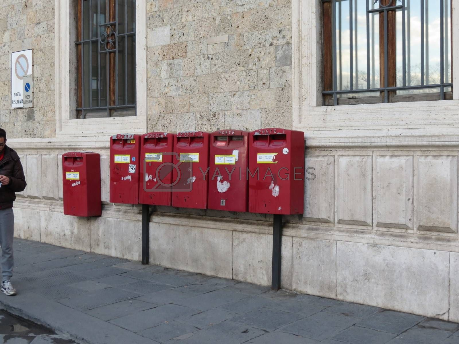 Royalty free image of Mail boxes by paolo77