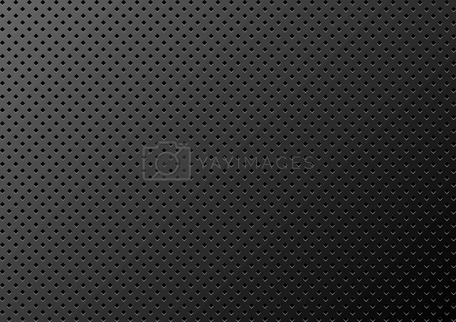 Royalty free image of Dark Metal Texture Background by illustratorCZ