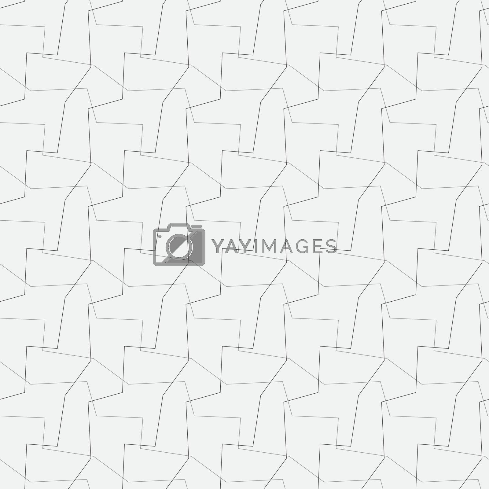 Royalty free image of abstract vector seamless wallpaper by pzRomashka