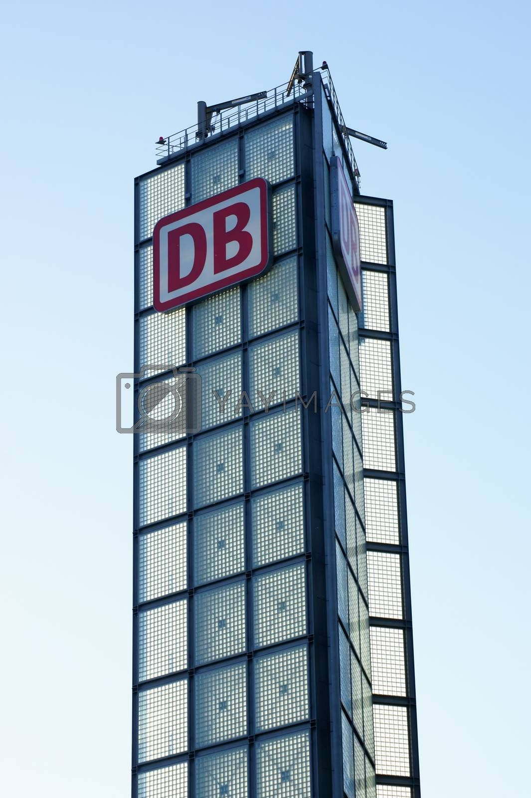 Royalty free image of Tower German Railways by ginton