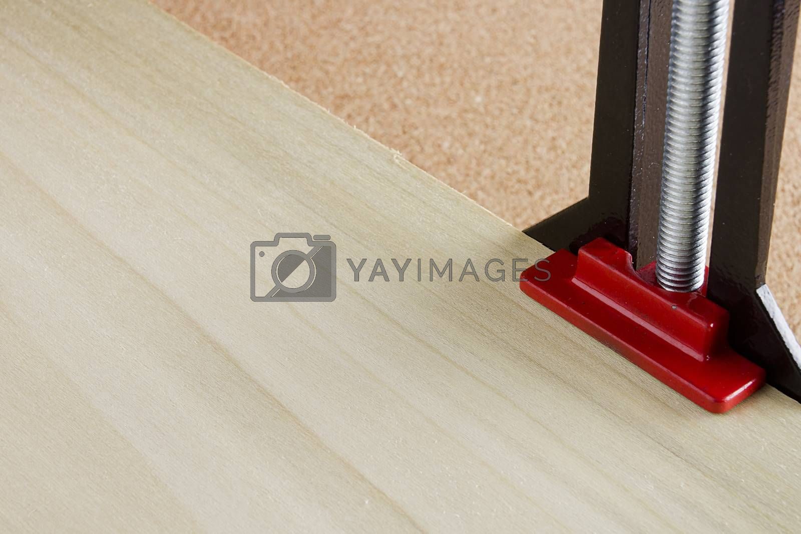 Royalty free image of Angle clamp by VIPDesignUSA