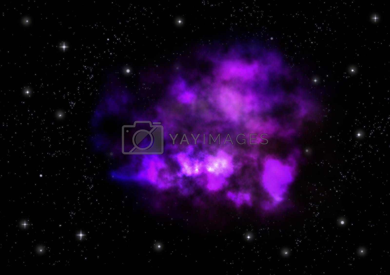 Royalty free image of Small part of an infinite star field by richter1910