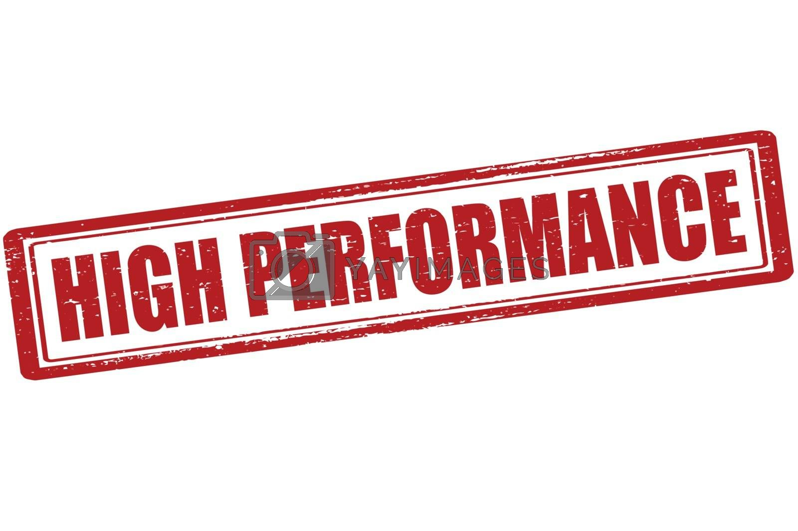 Royalty free image of High performance by carmenbobo