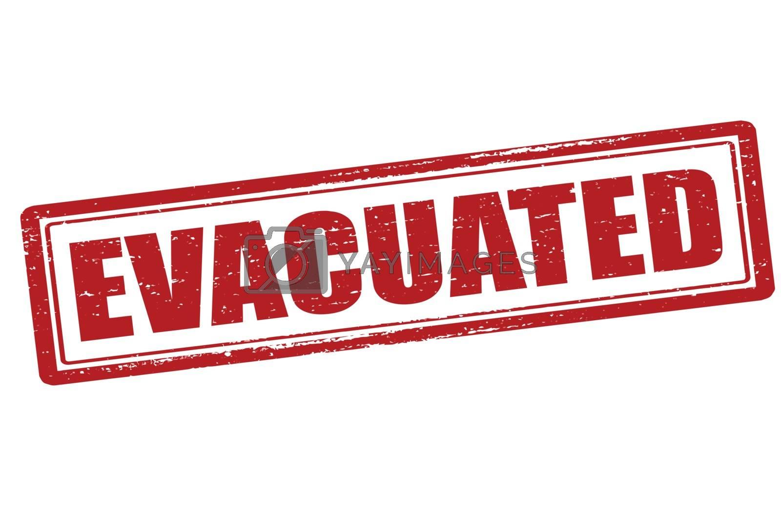 Royalty free image of Evacuated by carmenbobo