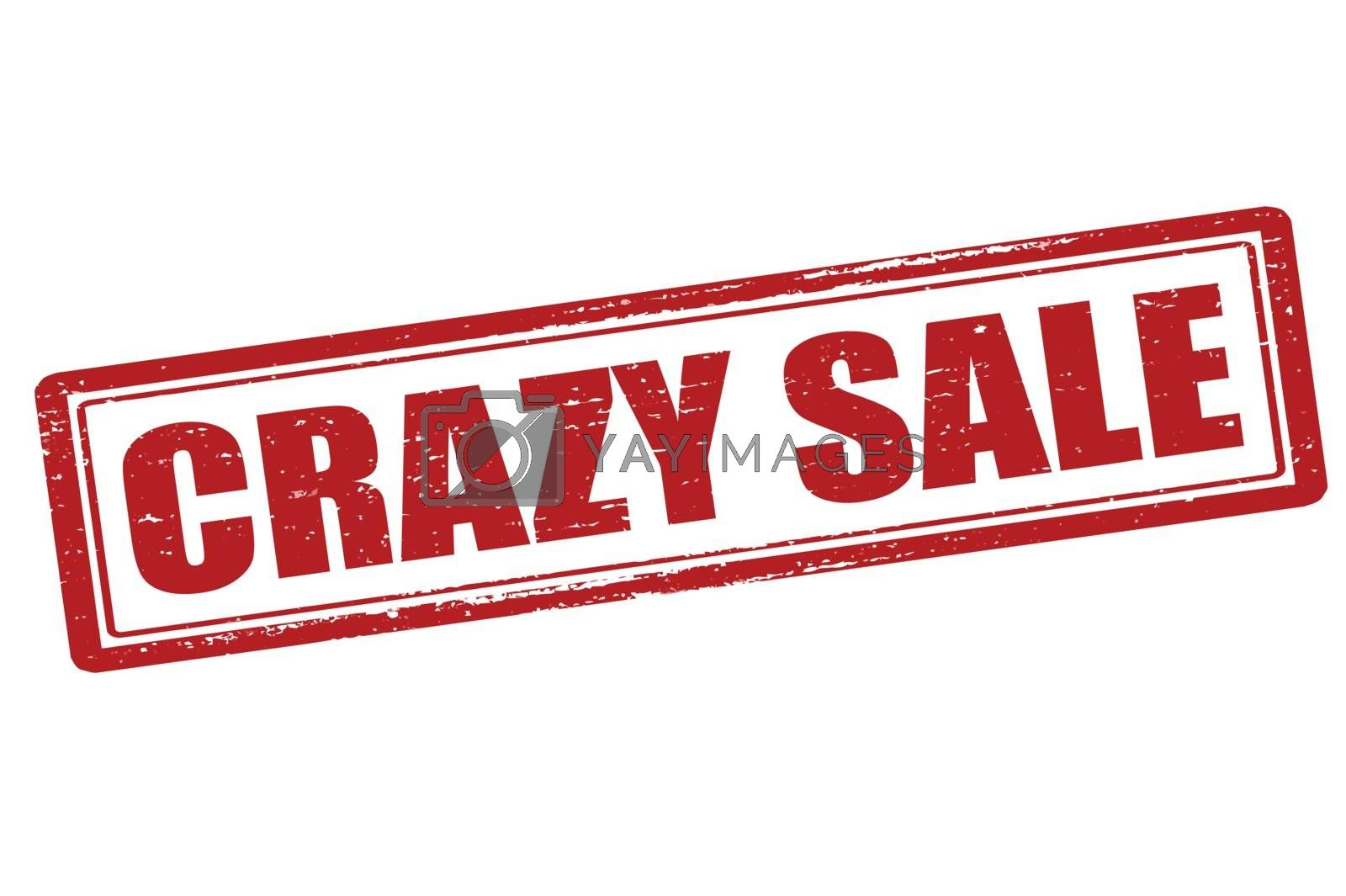 Royalty free image of Crazy sale by carmenbobo