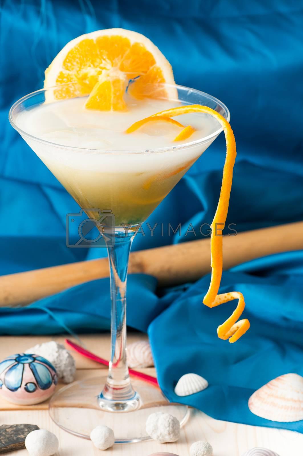 orange cocktail by antonio.li