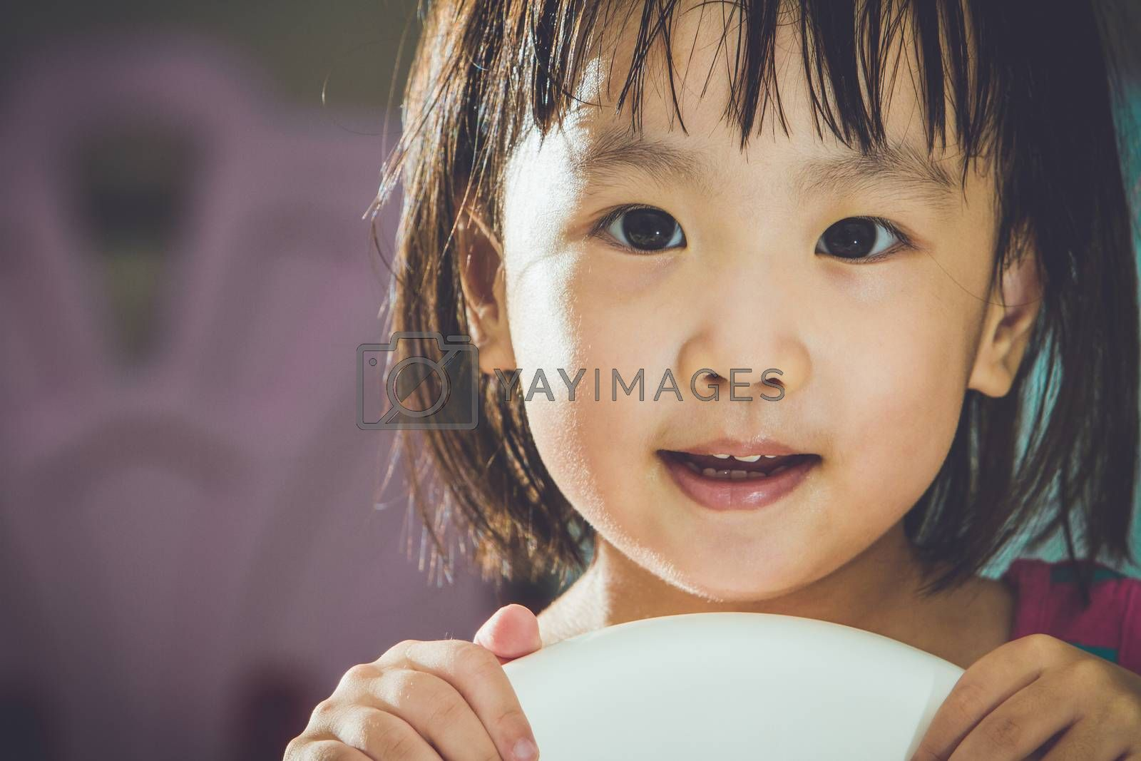 Royalty free image of Asian Chinese Girl  by kiankhoon