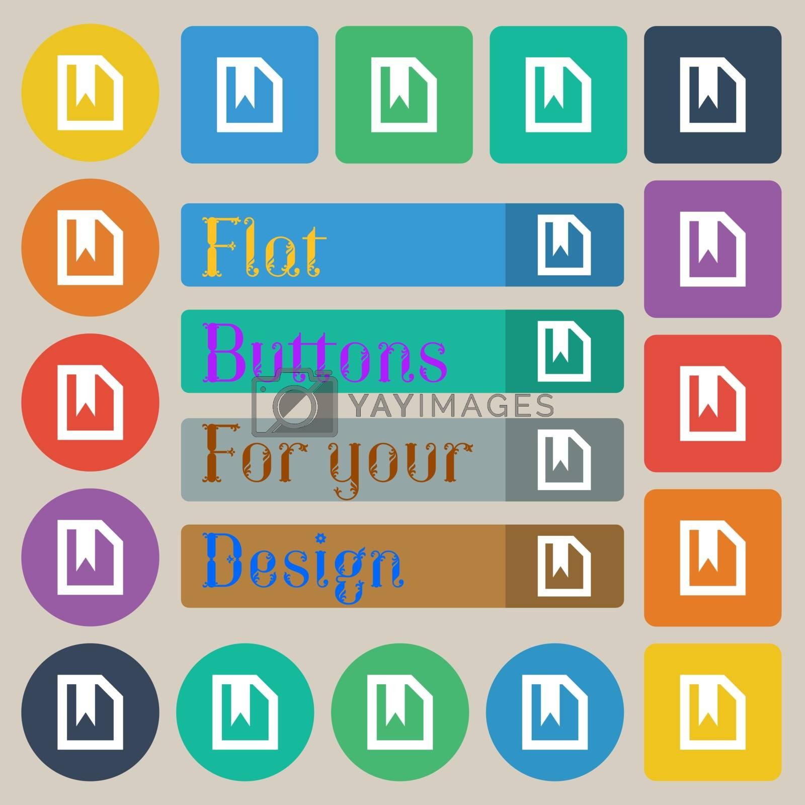 Royalty free image of bookmark  by serhii_lohvyniuk