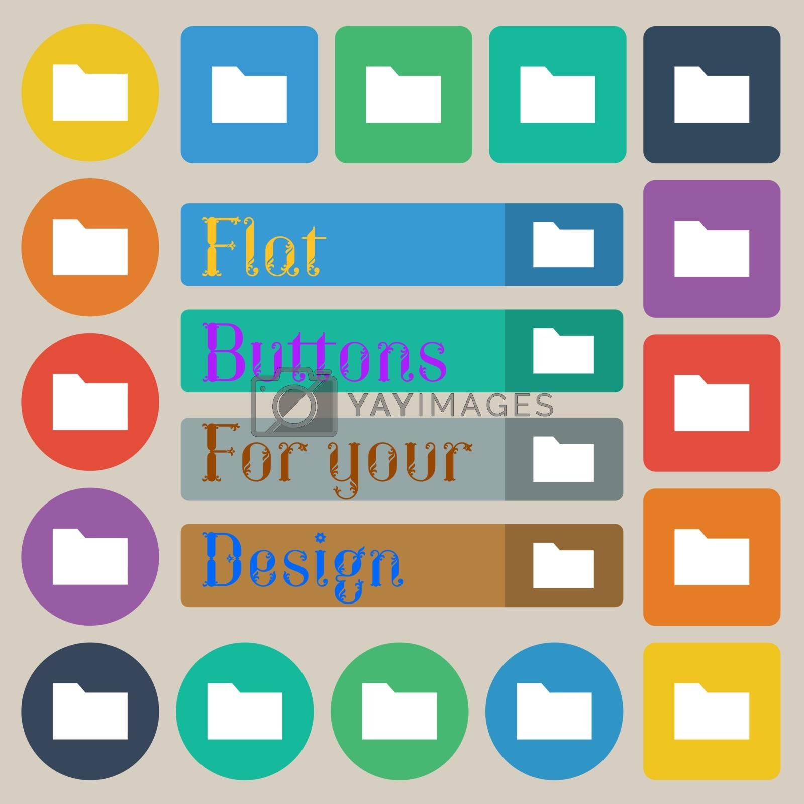 Royalty free image of Document folder  by serhii_lohvyniuk