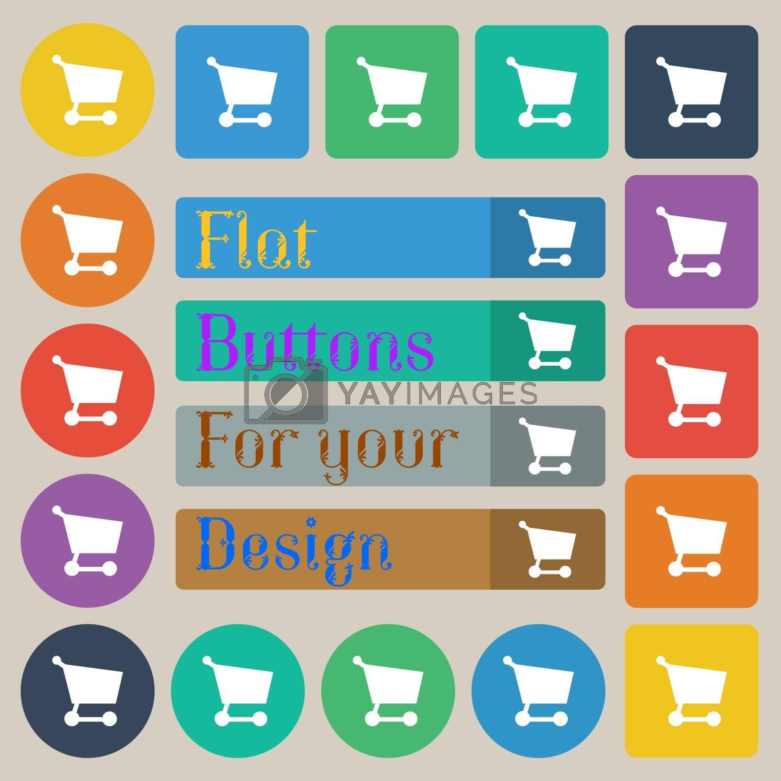 Royalty free image of Shopping basket  by serhii_lohvyniuk