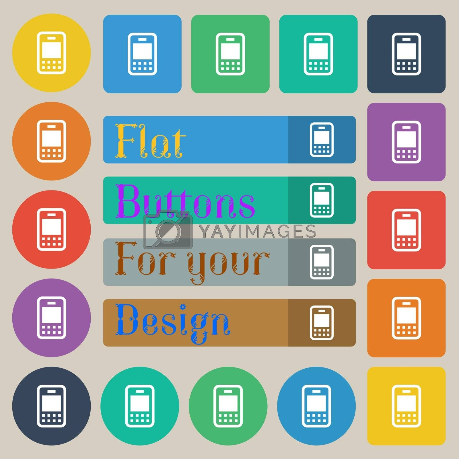 Royalty free image of Mobile telecommunications technology  by serhii_lohvyniuk