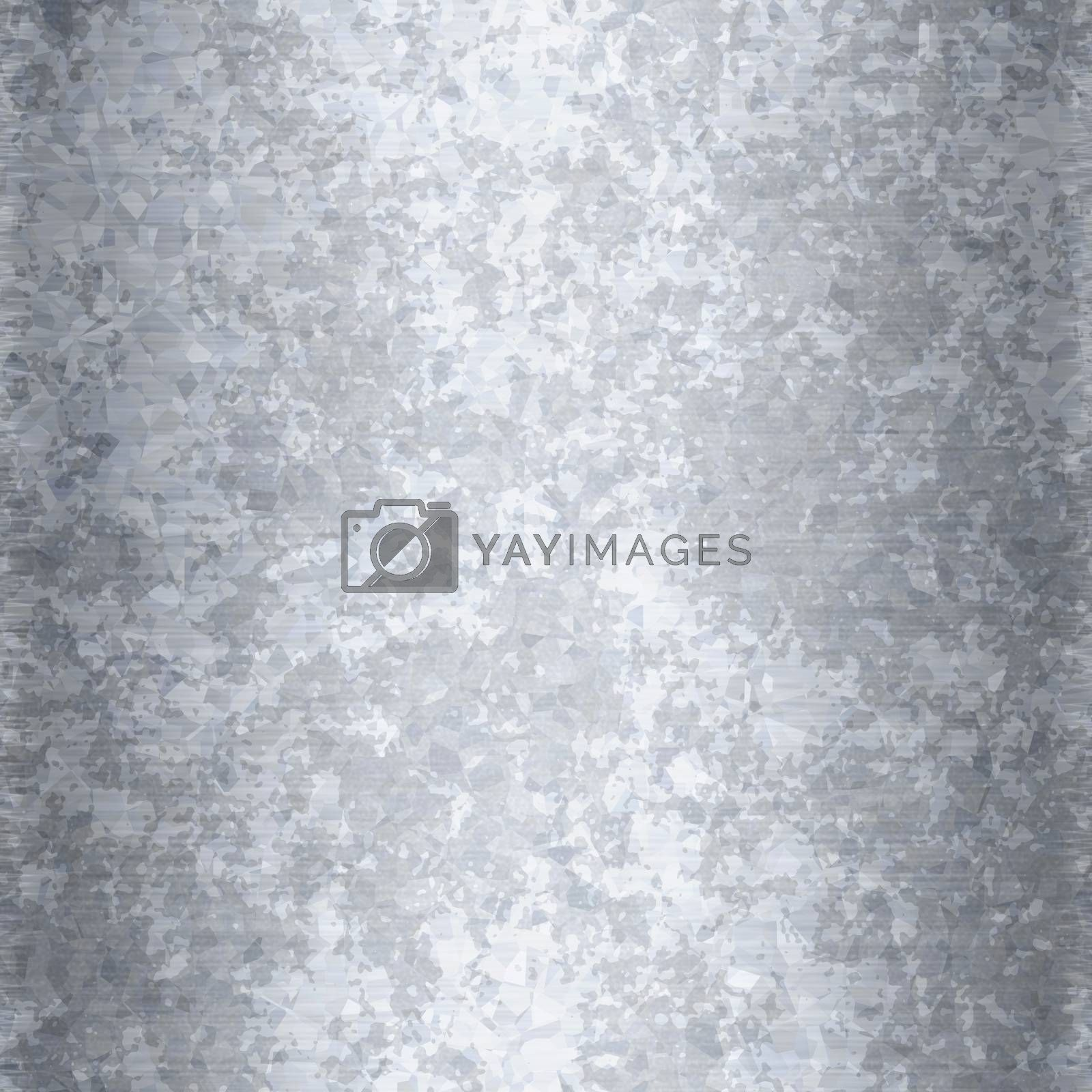 Galvanized metal texture that works as a seamless background pattern.
